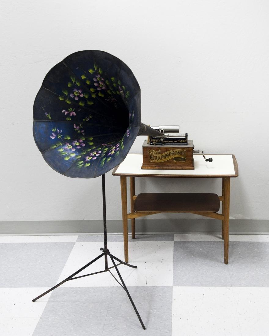 American Gramophone Type A Gramophone.