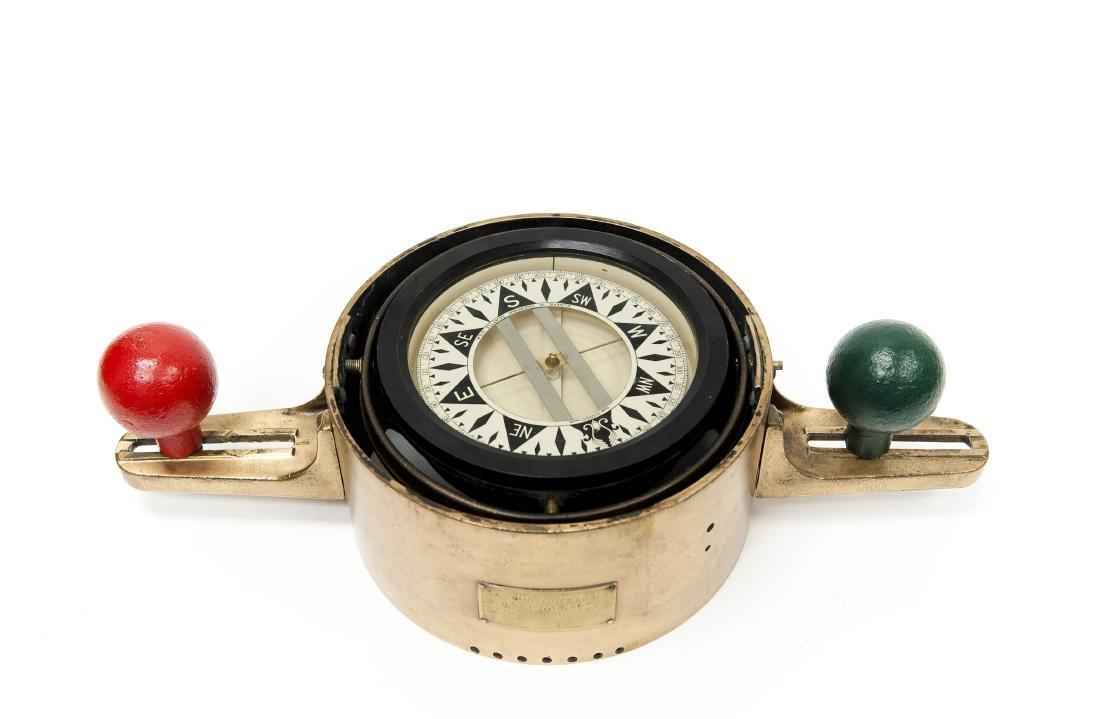 Vintage Ship's Compass.