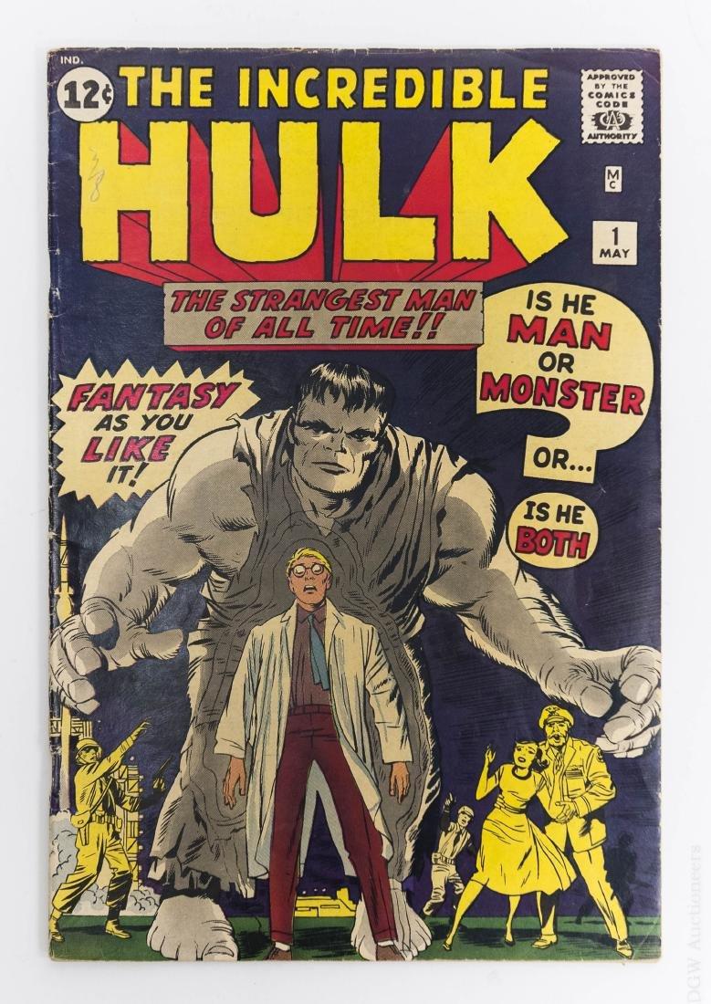 Incredible Hulk #1, 1962.