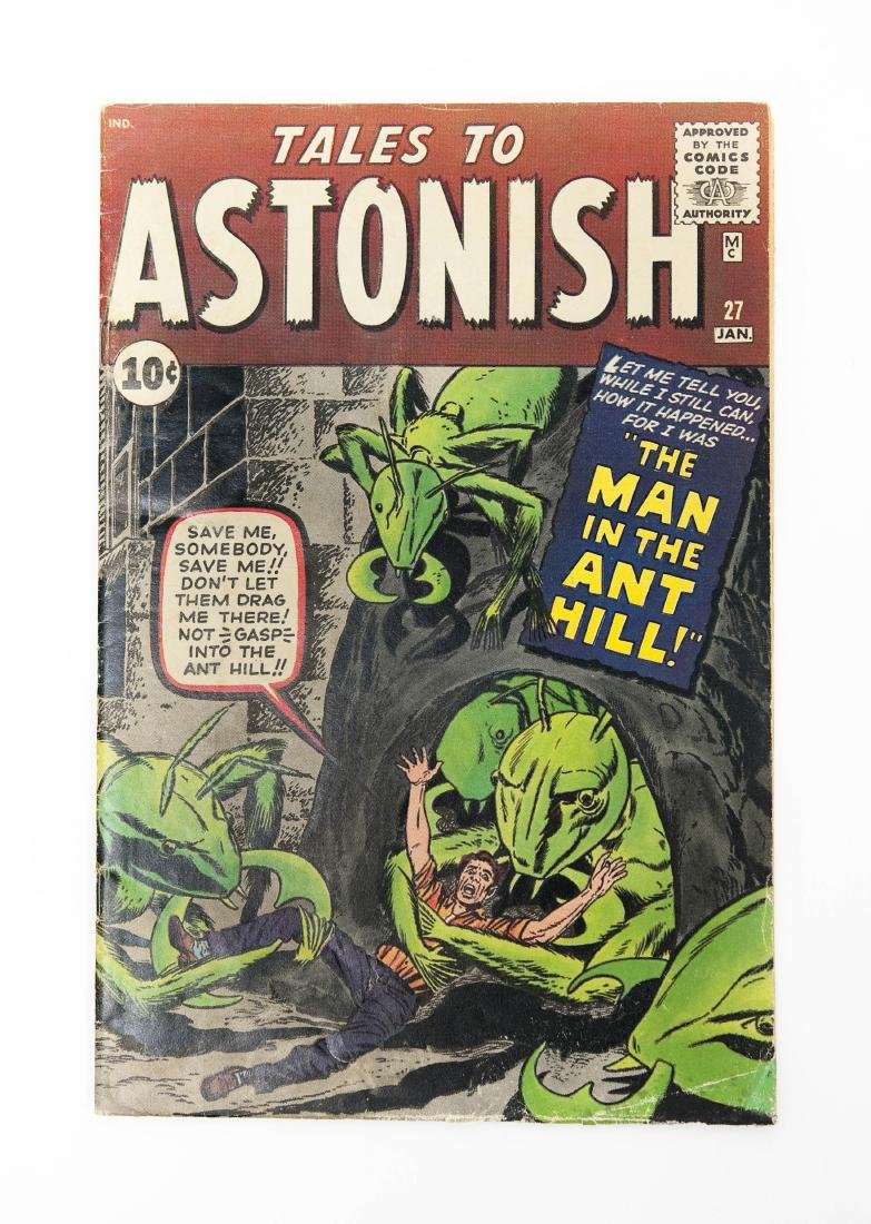 Comic Book, Tales to Astonish, Vol. 1, #27.