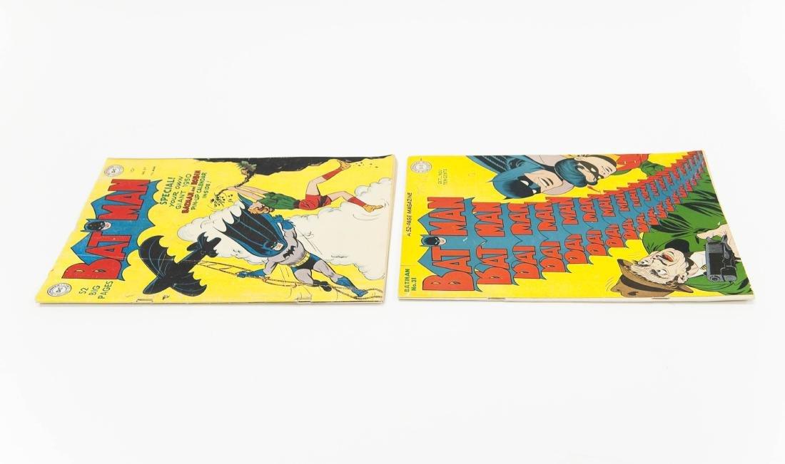 (2) DC Comic Books, Batman No. 31 & No. 57. - 3