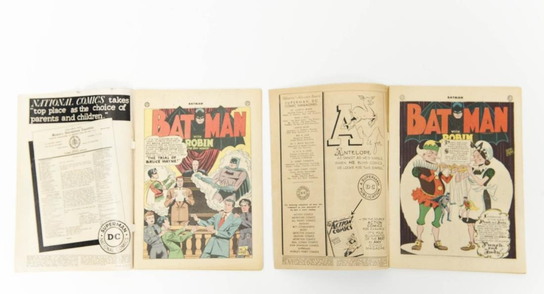 (2) DC Comic Books, Batman No. 31 & No. 57. - 4