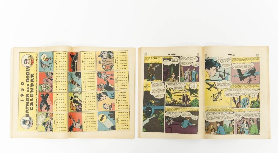(2) DC Comic Books, Batman No. 31 & No. 57. - 5