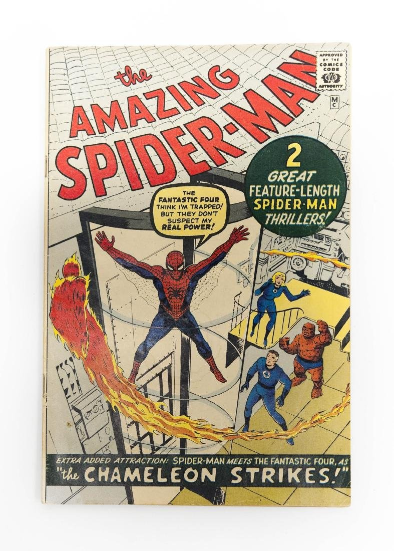 The Amazing Spider-Man #1, Golden Records Issue 1966.
