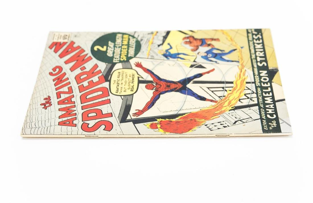 The Amazing Spider-Man #1, Golden Records Issue 1966. - 3
