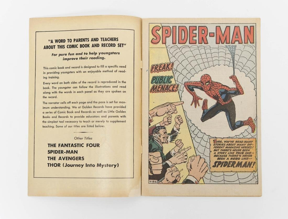 The Amazing Spider-Man #1, Golden Records Issue 1966. - 6