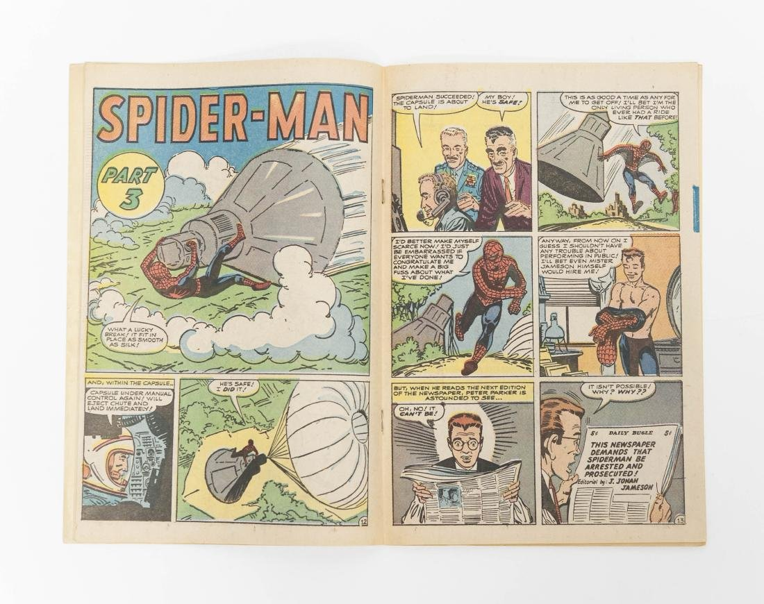 The Amazing Spider-Man #1, Golden Records Issue 1966. - 7