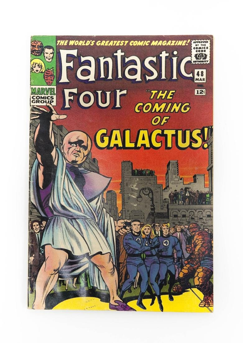 Comic Book, Fantastic Four #48, Marvel, 1966.
