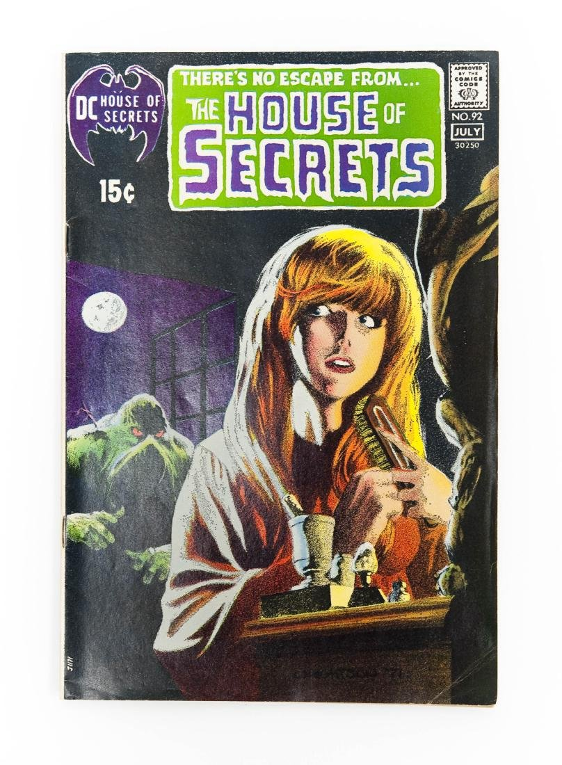 Comic Book, House of Secrets #92, DC, 1971.