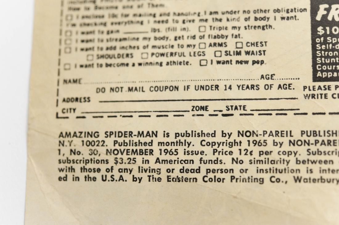 (10) Comic Books, The Amazing Spider-Man. - 5