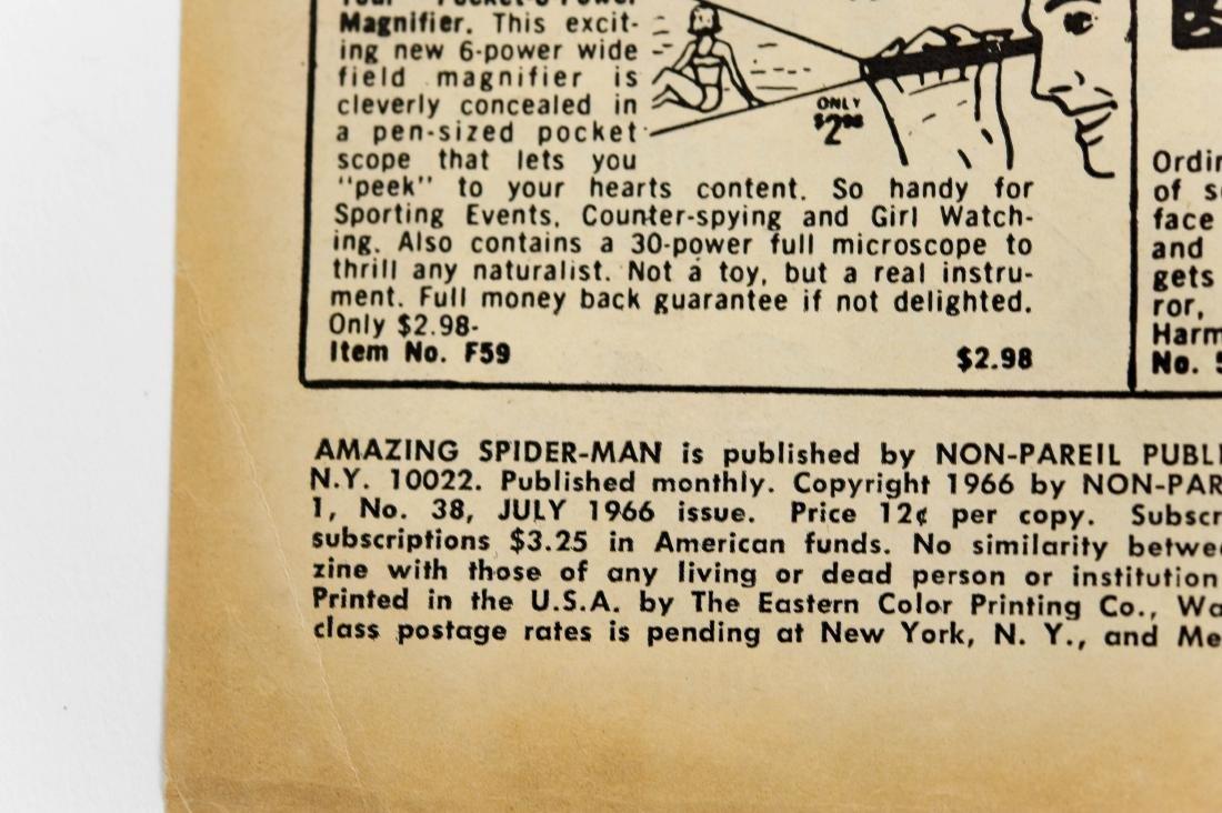 (10) Comic Books, The Amazing Spider-Man. - 6