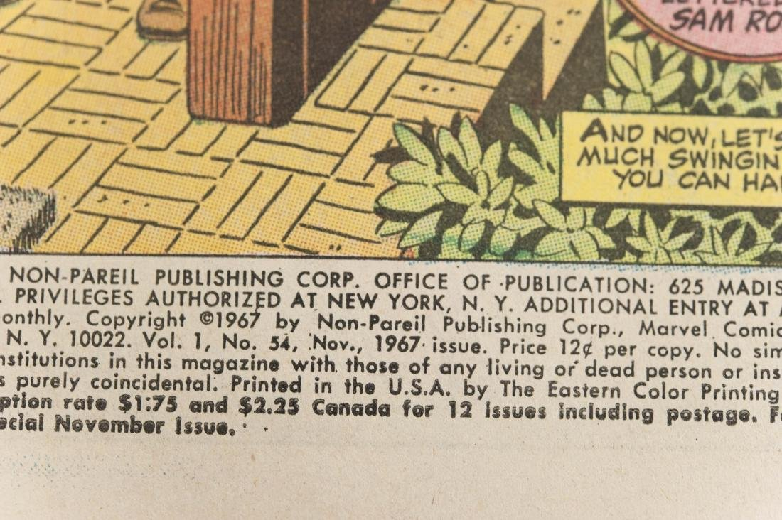 (10) Comic Books, The Amazing Spider-Man. - 9