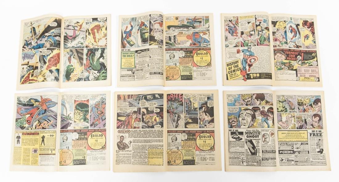 (10) Comic Books, The Amazing Spider-Man. - 10