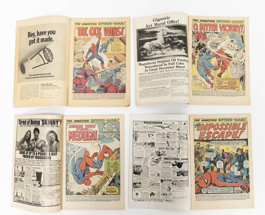 (10) Comic Books, The Amazing Spider-Man. - 3