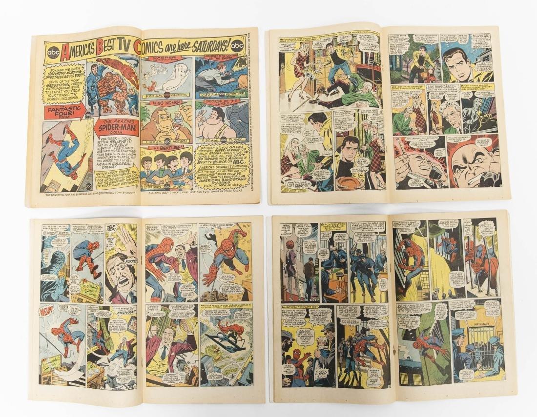 (10) Comic Books, The Amazing Spider-Man. - 4