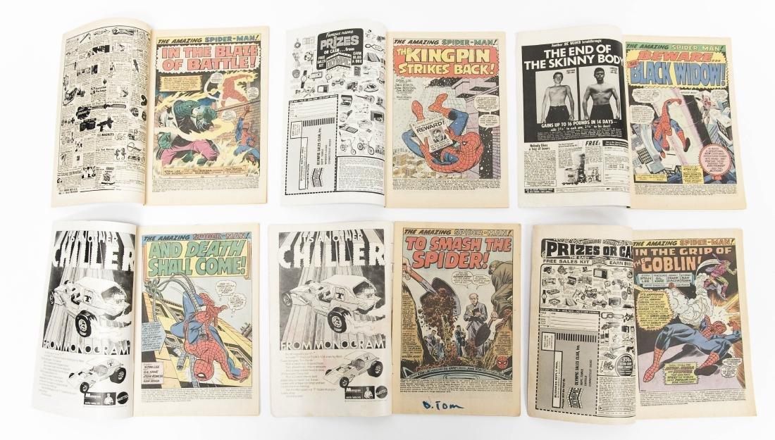 (10) Comic Books, The Amazing Spider-Man. - 7