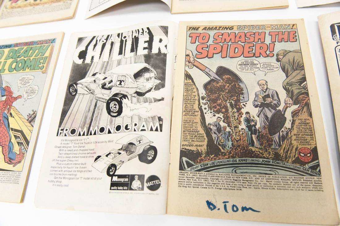 (10) Comic Books, The Amazing Spider-Man. - 8