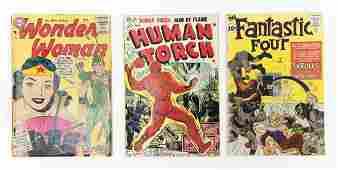 (3) Vintage Comic Books.