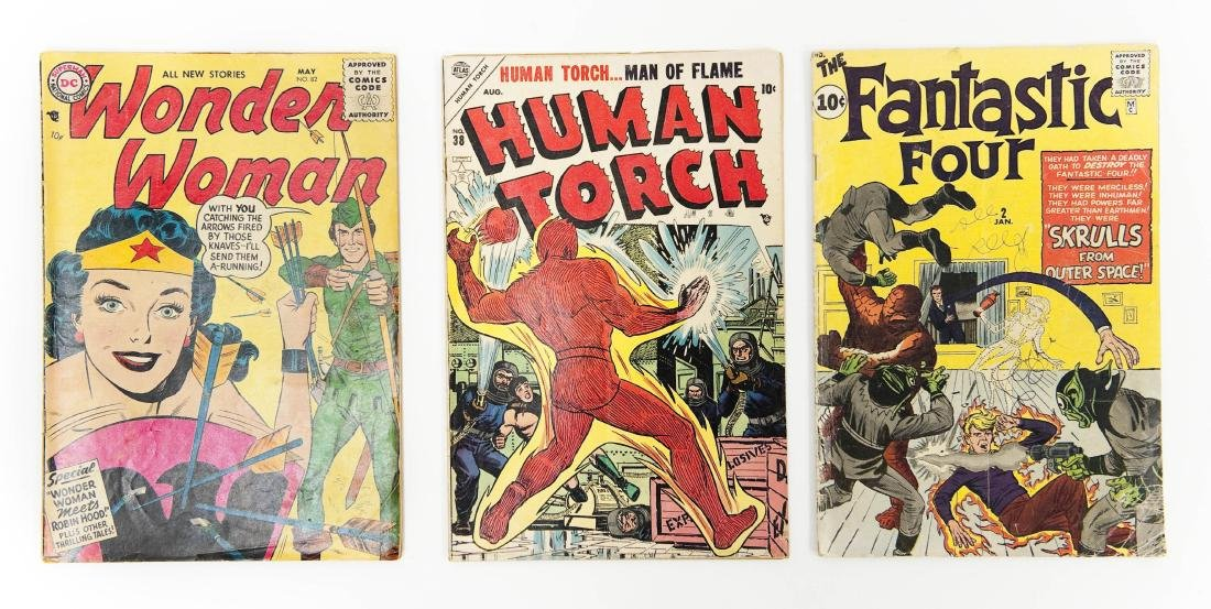 (3) Vintage Comic Books.