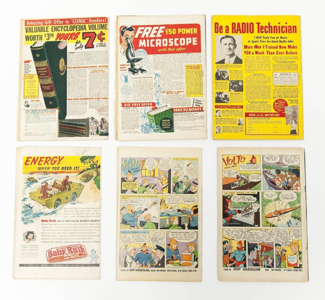 (6) Vintage Shadow Comics. - 2