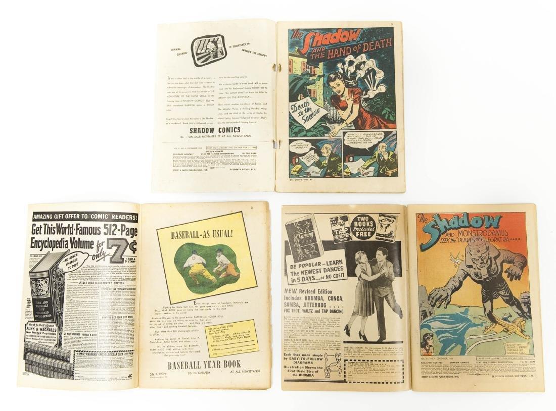 (6) Vintage Shadow Comics. - 3