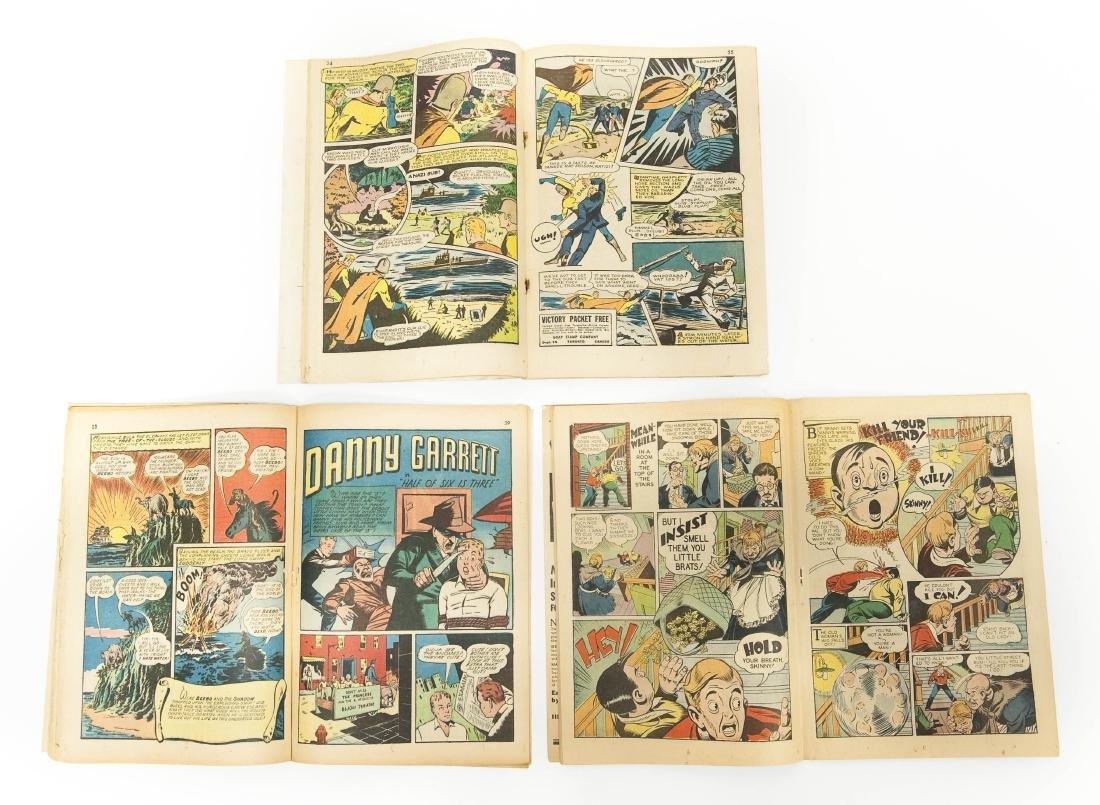 (6) Vintage Shadow Comics. - 4