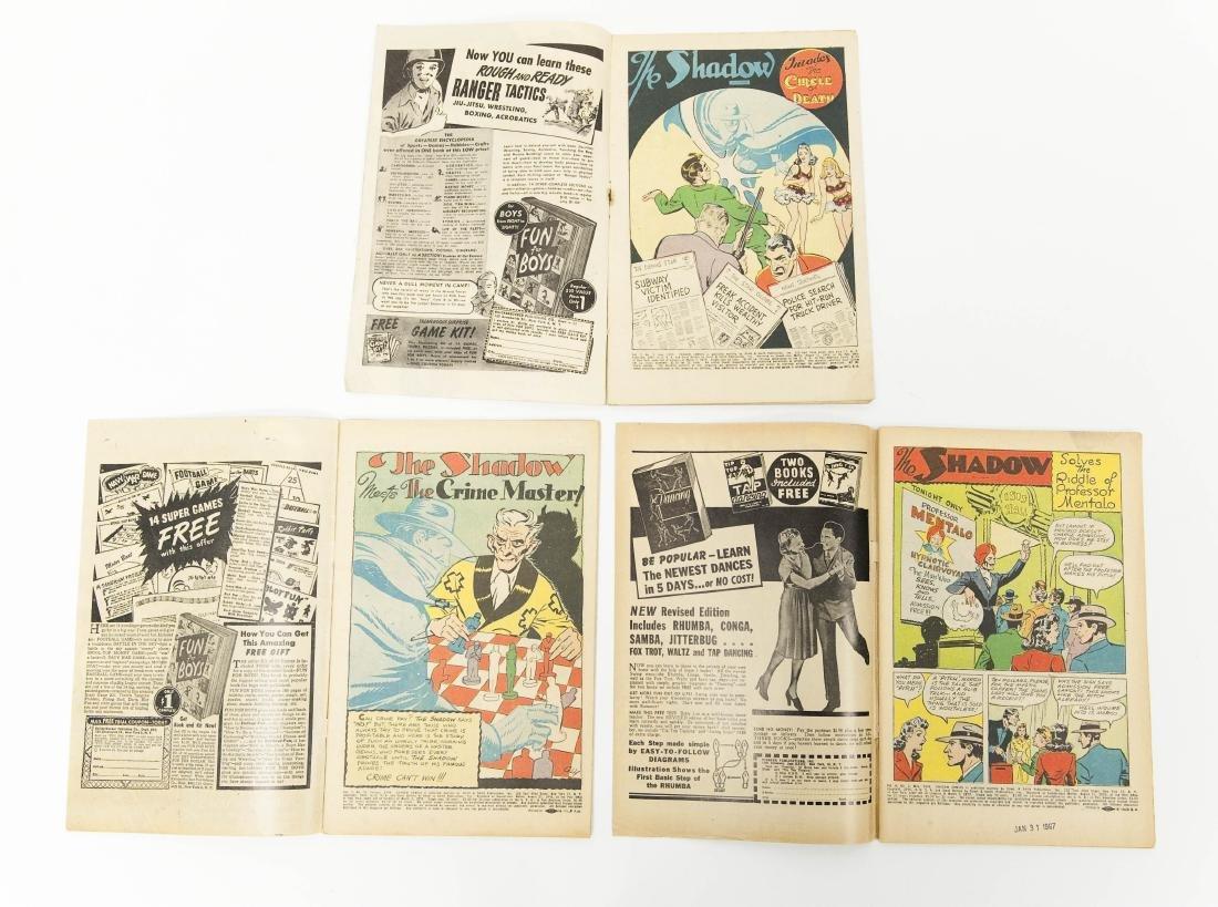 (6) Vintage Shadow Comics. - 7