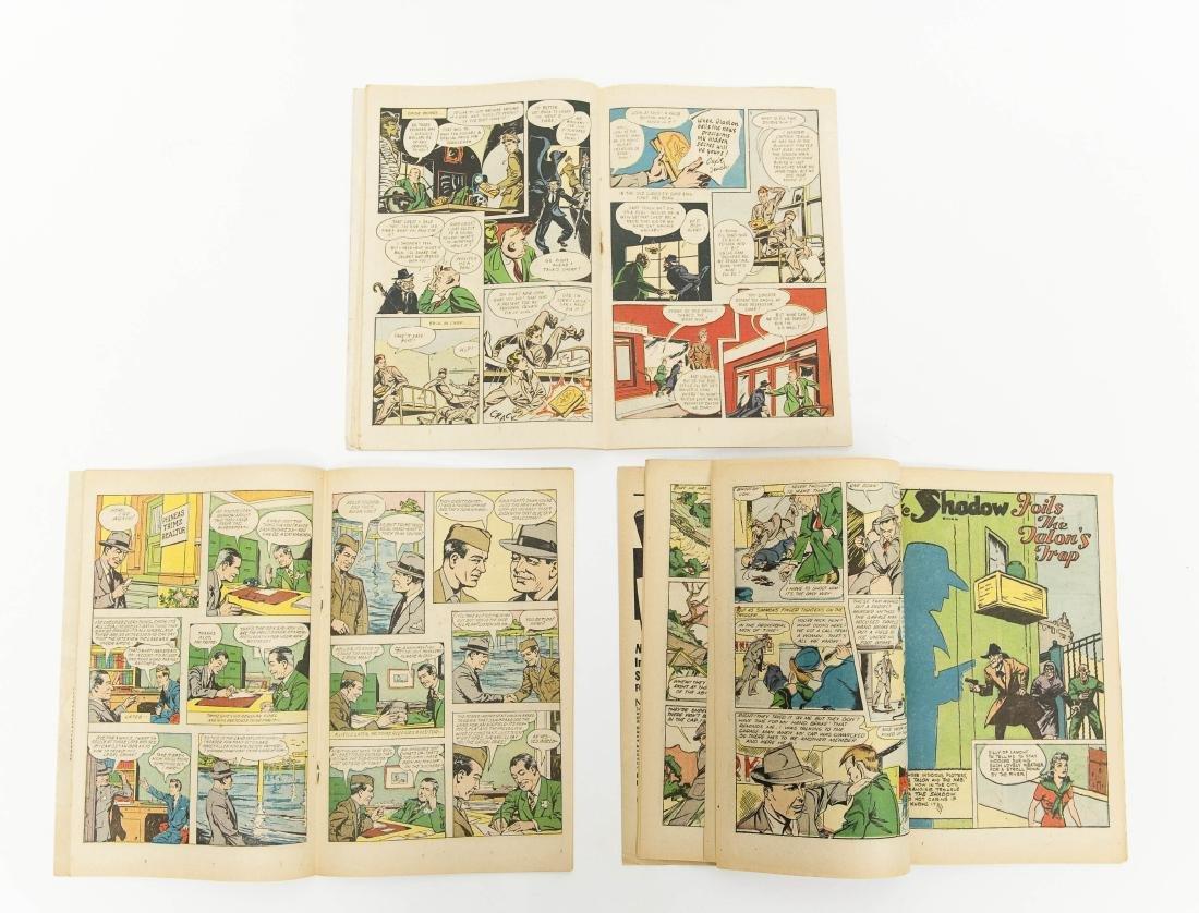 (6) Vintage Shadow Comics. - 8