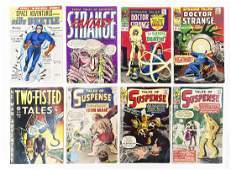 (8) Vintage Comic Books.