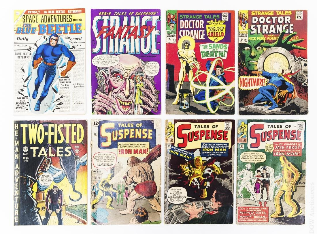 (8) Vintage Comic Books.