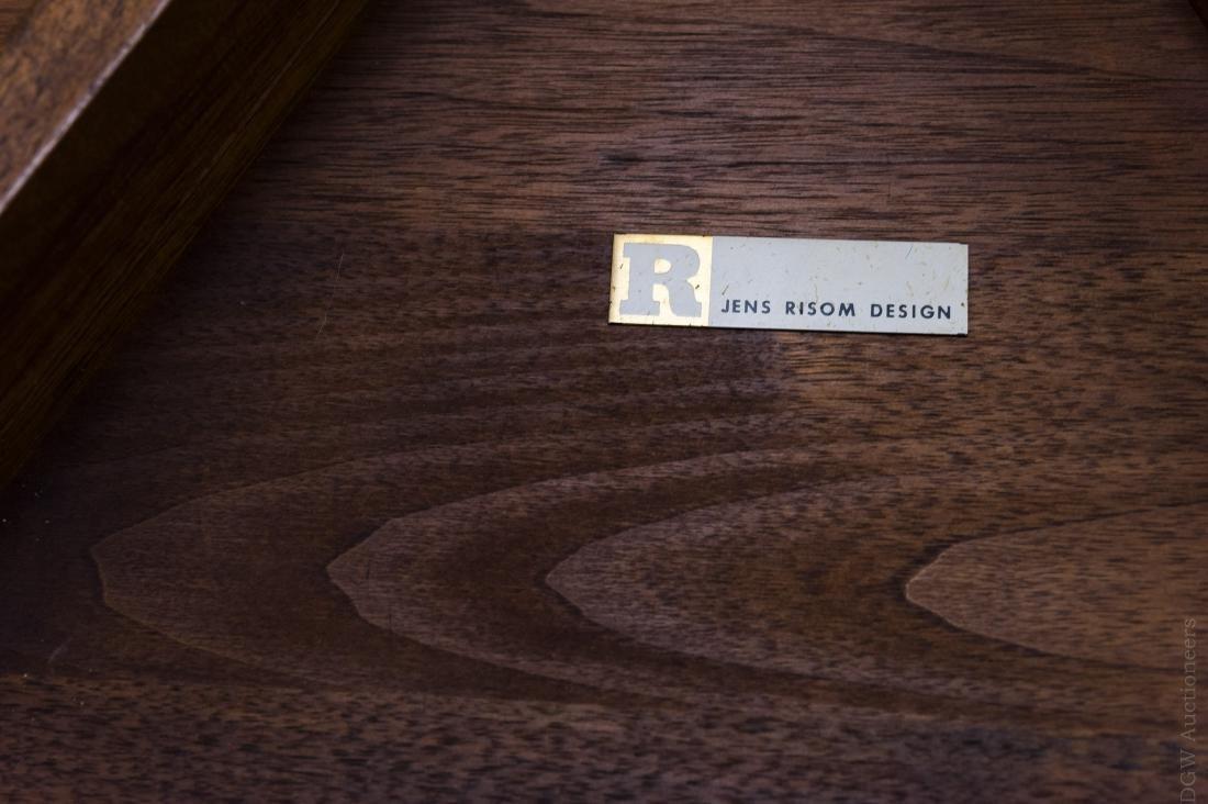 Jens Risom Design Walnut Side Table. - 5