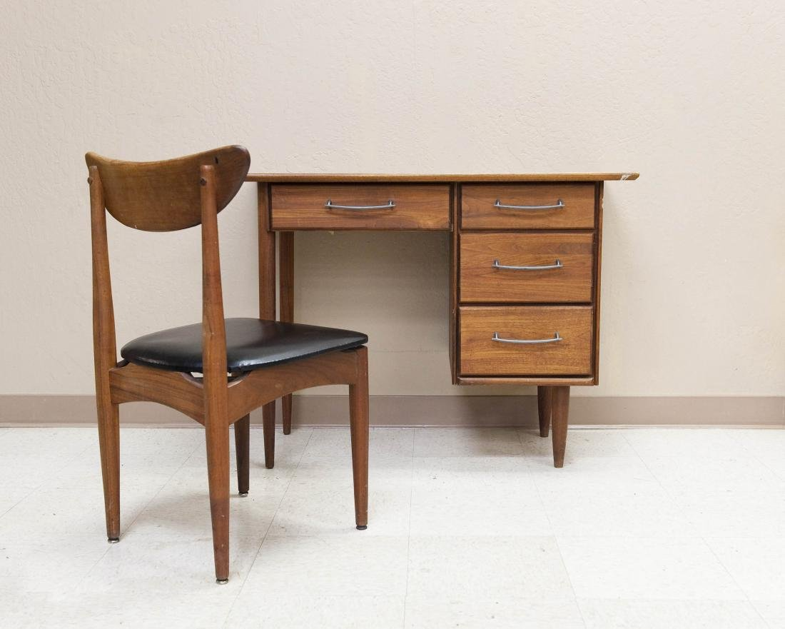 Prelude Ace-Hi Furniture Walnut Student's Desk and