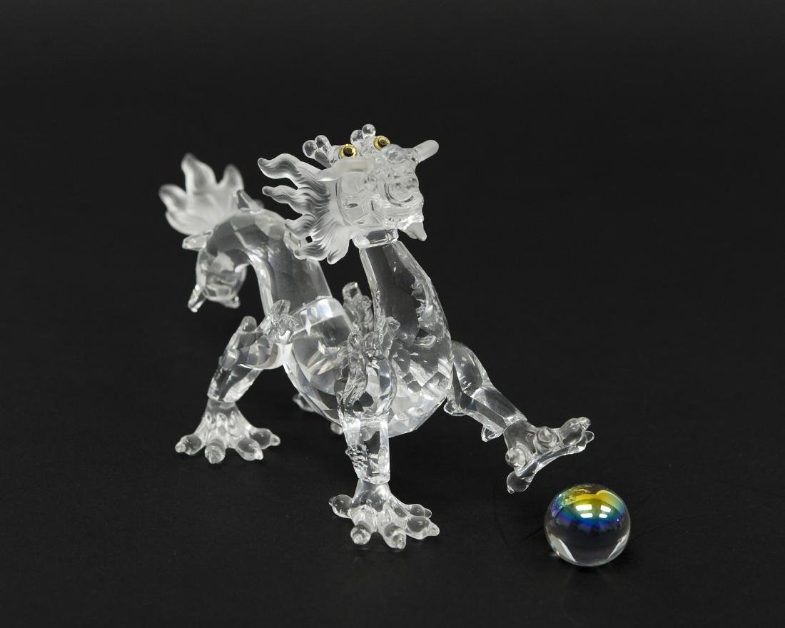 (2) Swarovski Crystal Dragon Figures. - 4