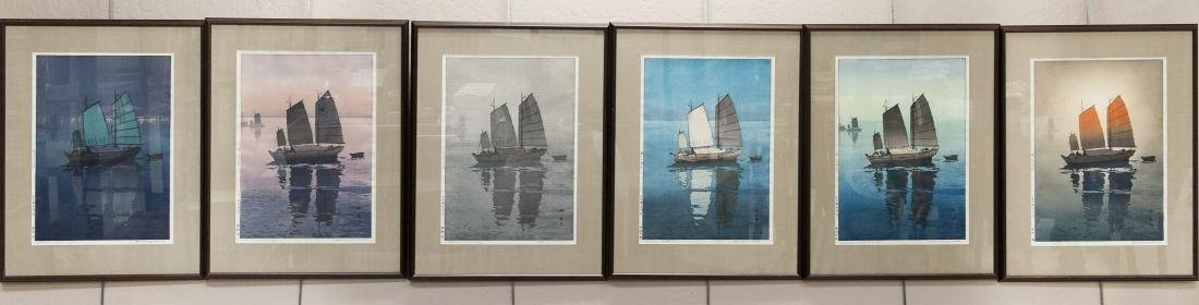 Hiroshi Yoshida Collection Inland Sea Series.