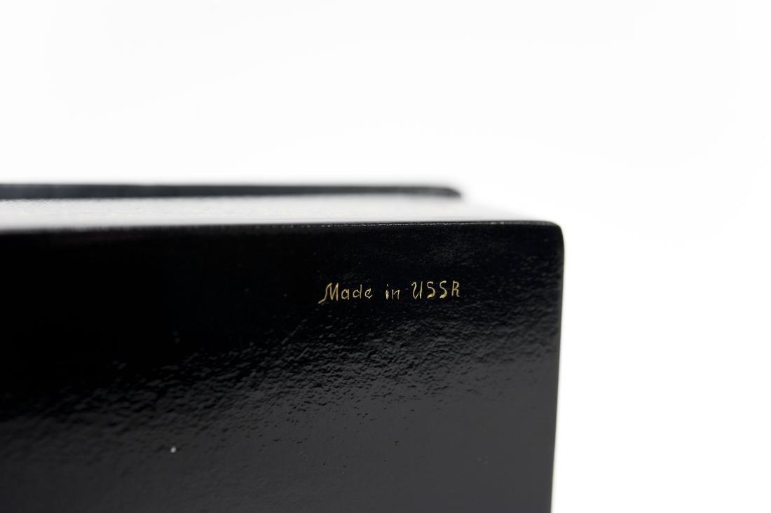 Volkov Palekh Russian Lacquer Box. - 7