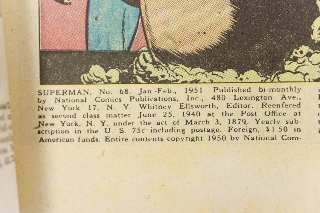 (3) DC Comic Books. - 11