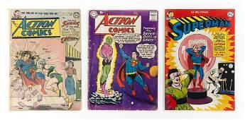 3 DC Comic Books