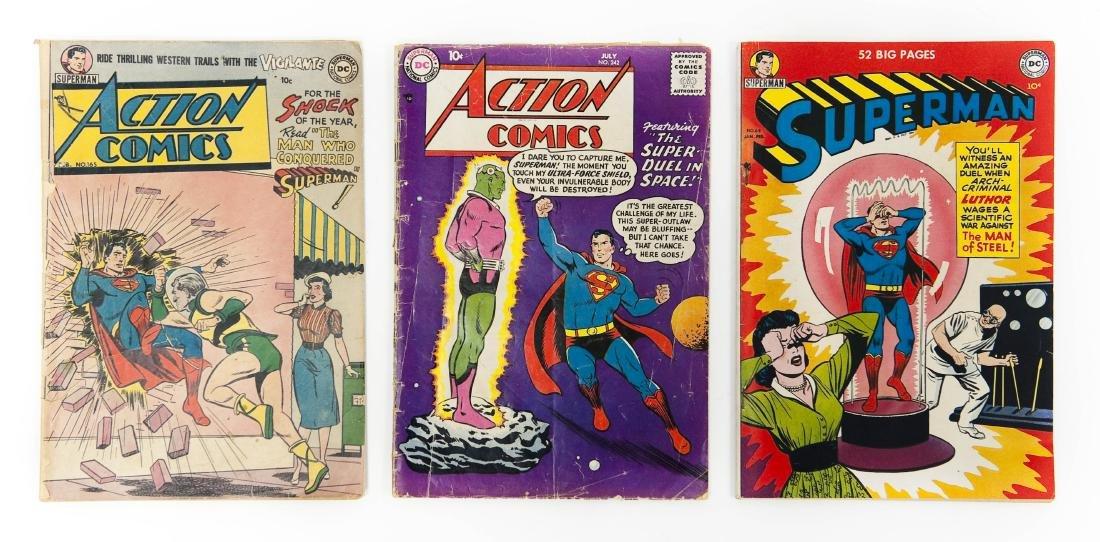 (3) DC Comic Books.