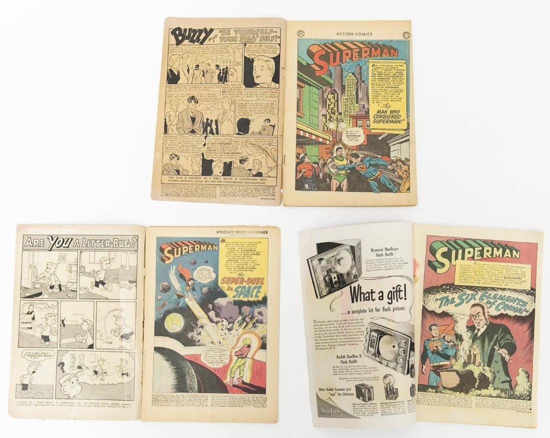 (3) DC Comic Books. - 2