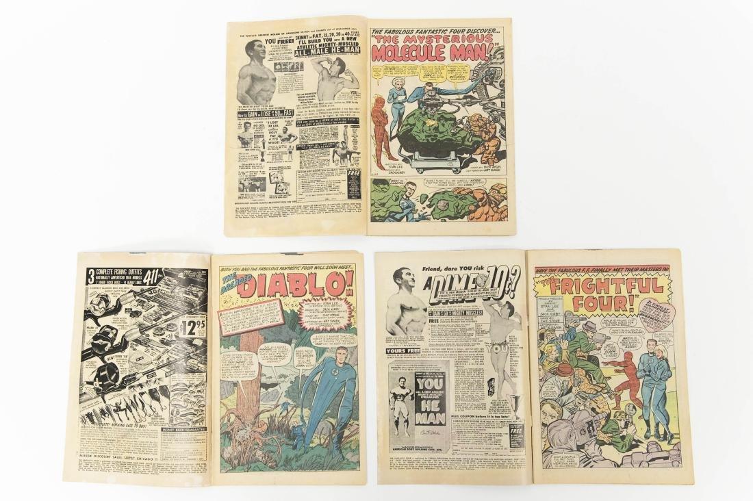 (11) Fantastic Four Comic Books (12c). - 3