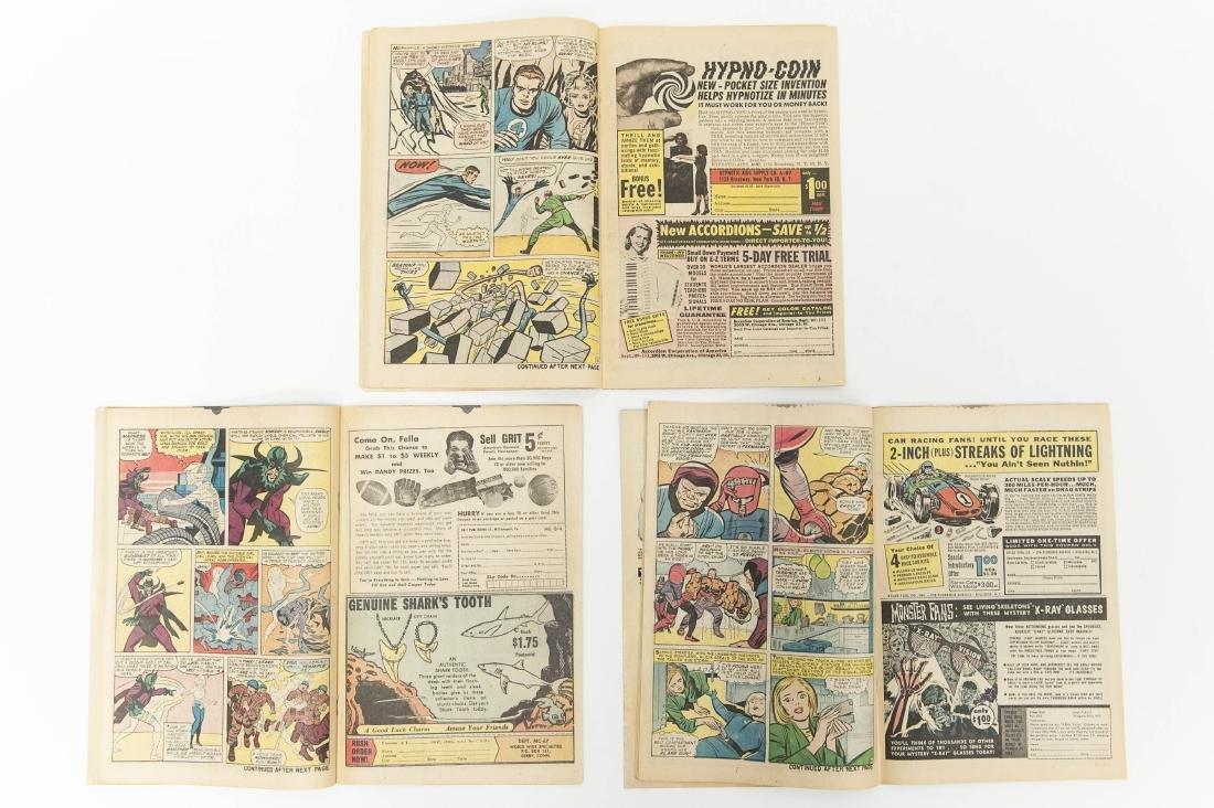 (11) Fantastic Four Comic Books (12c). - 4