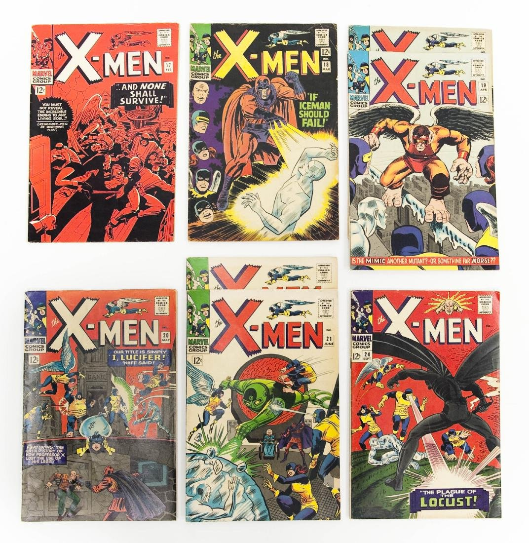 (8) Marvel, X-Men Comic Books.