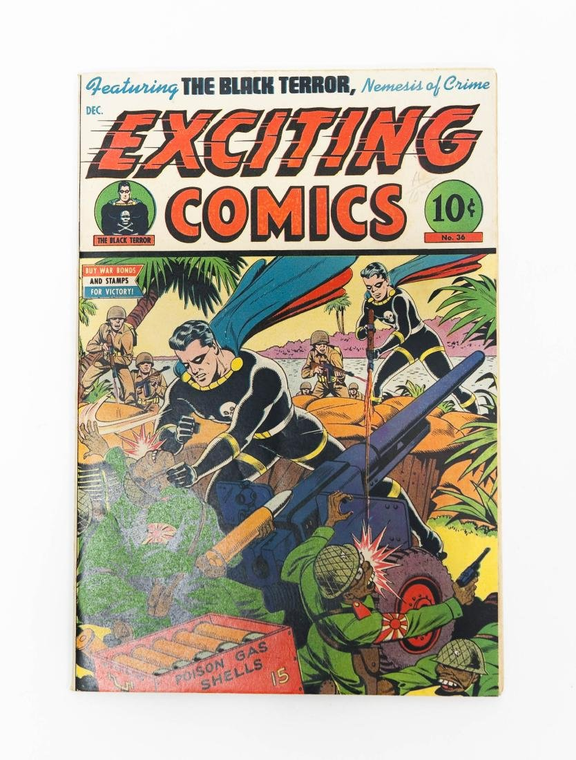 One Comic Book, Exciting Comics #36.