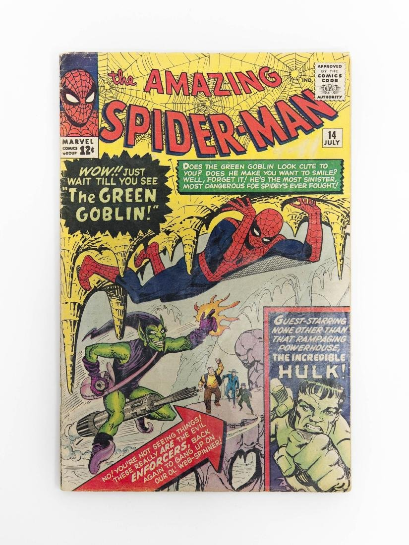 Marvel Comic, The Amazing Spider-Man #14.