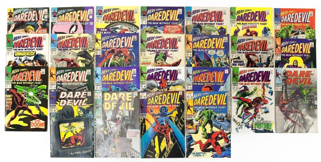 (25) Marvel Comics, Here Comes Daredevil.