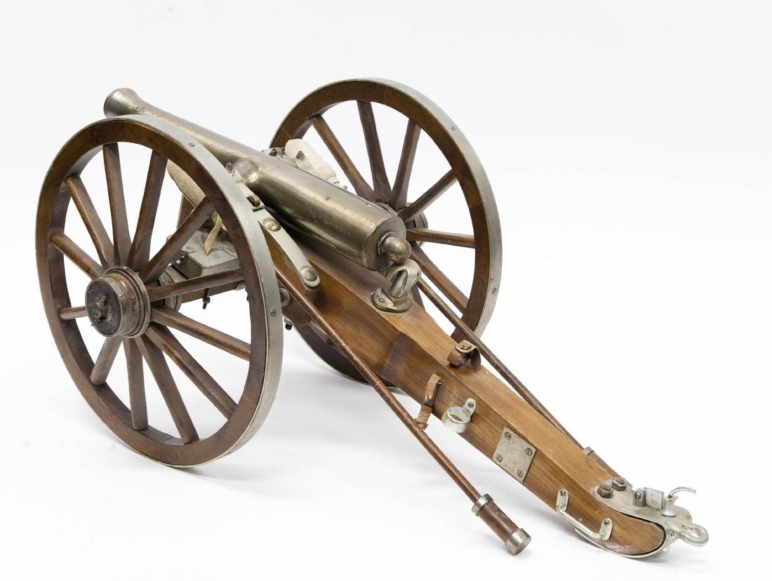 Hand Crafted Model Cannon. - 4