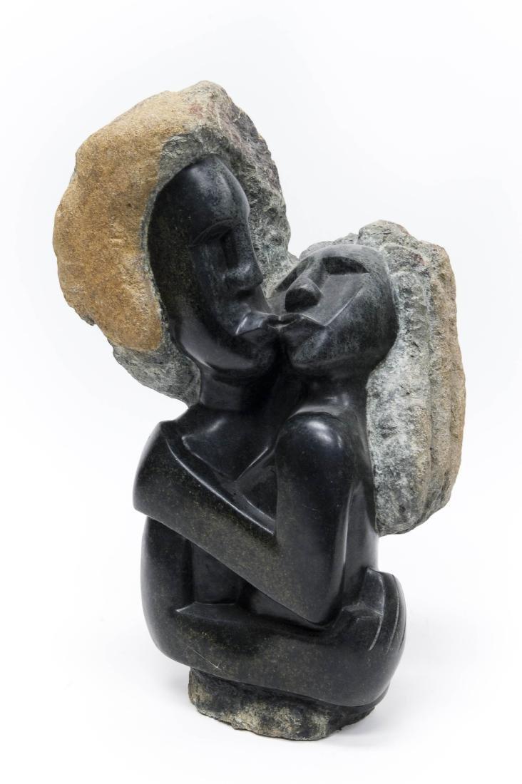 Lucas T. Sithole Shona Stone Sculpture.