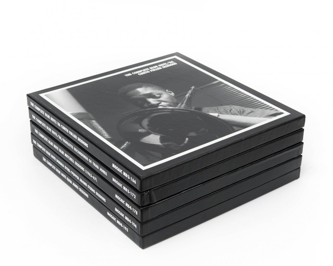 (5) Mosaic Records Limited Edition Jazz CD Box Sets.