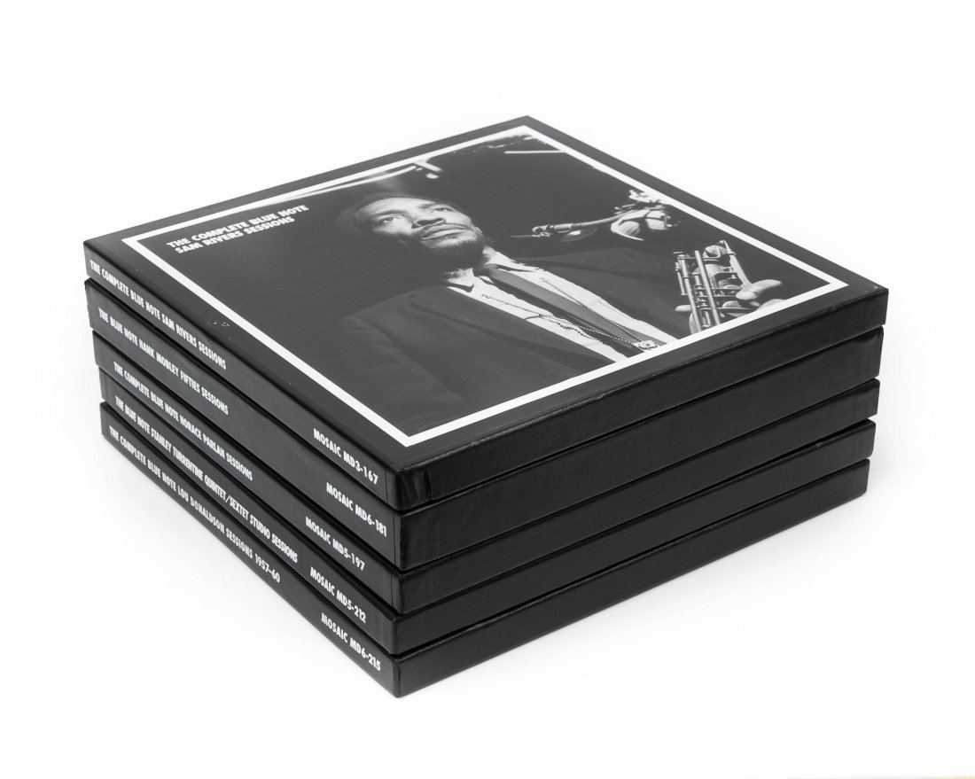 (5) Mosaic Records Limited Edition Jazz CD Box Sets.