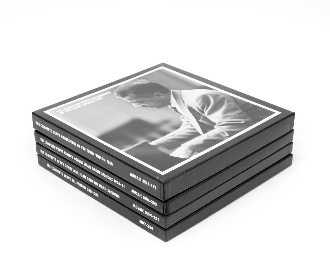 (4) Mosaic Records Limited Edition Jazz CD Box Sets.